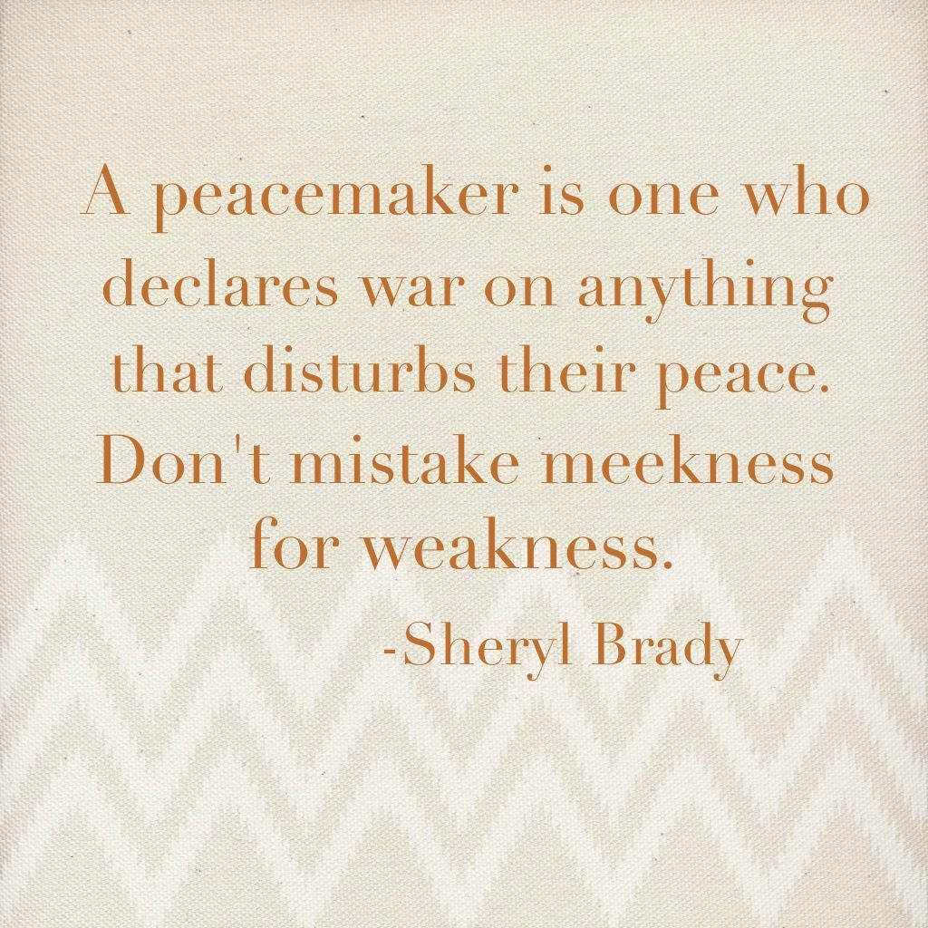 Peacemaker Quotes Fascinating I Want To Be A Peacemaker  Quotes  Pinterest