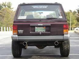 dual exhaust jeep cherokee xj jeep