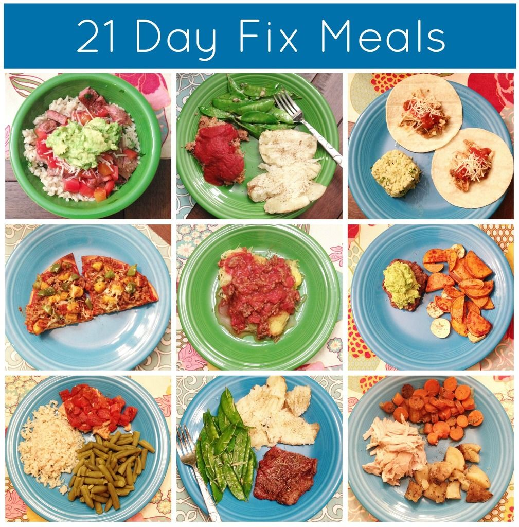 21 Day Fix Meals - Clean Eating Meal Ideas