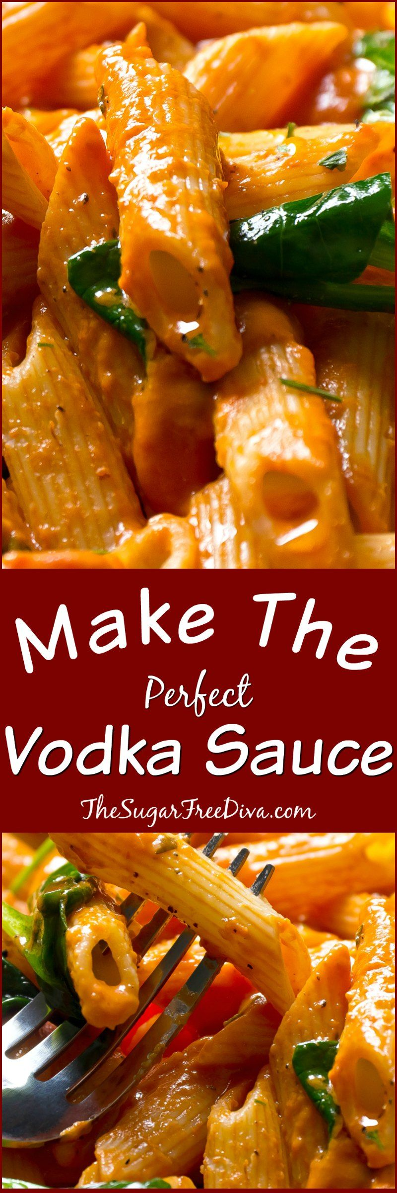 Make the perfect vodka sauce this is so easy to make and