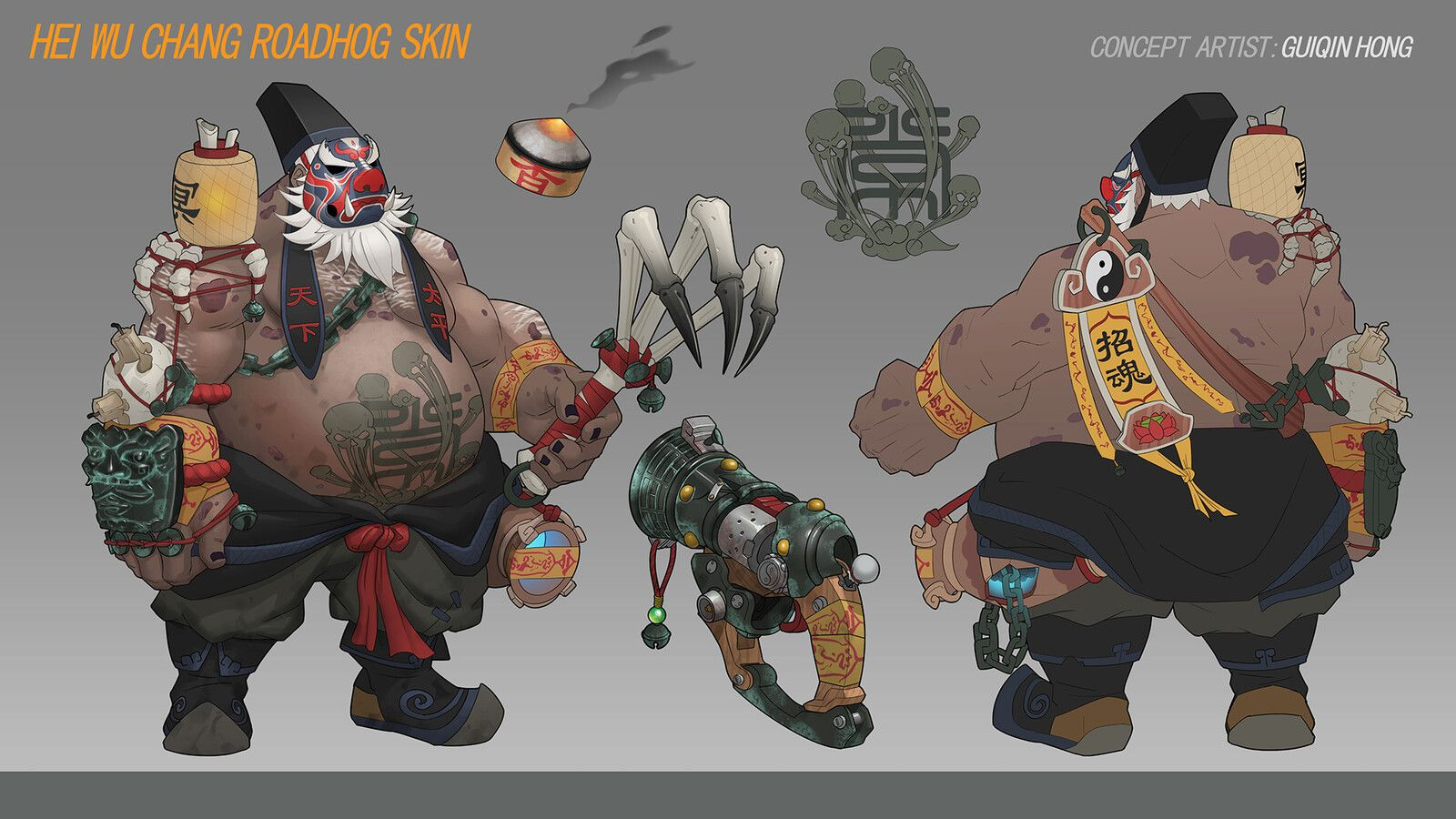 Overwatch Halloween Skins 2020 Parah Overwatch Junkrat and Roadhog fan skin, Guiqin Hong on ArtStation