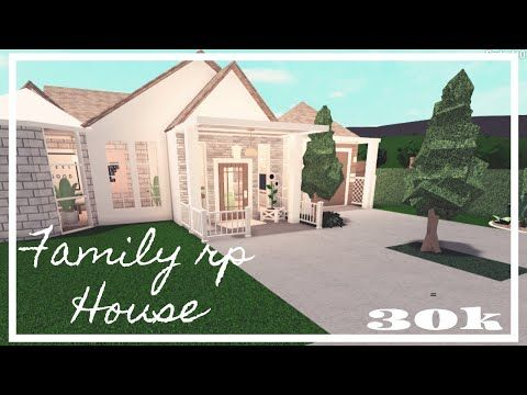 Bloxburg Family Rp House No Gamepasses First Build Youtube In 2020 Small House Tour House Blueprints House