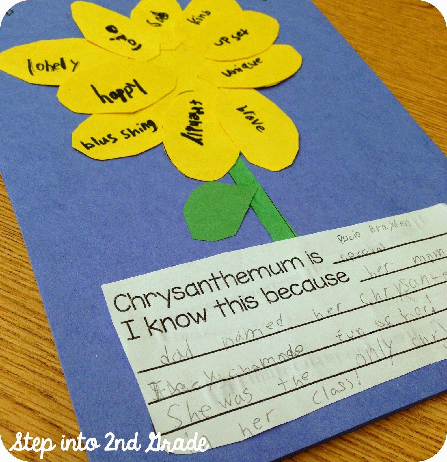 Chrysanthemum Chrysanthemum Chrysanthemum 1st Grade Books Chrysanthemum First Grade Classroom