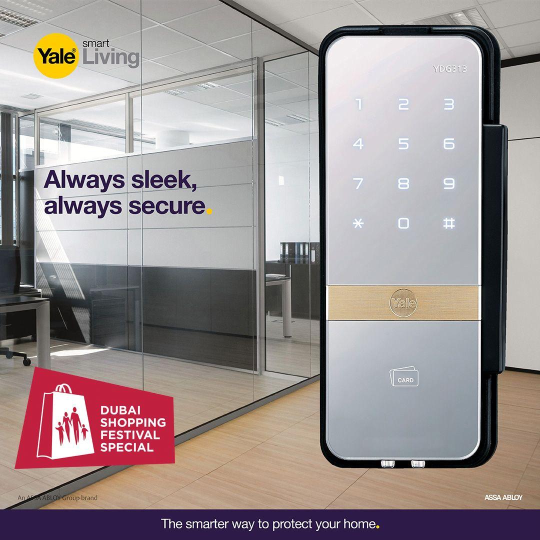 Always Sleek Always Secure Glass Door Digital Door Lock Digital Lock