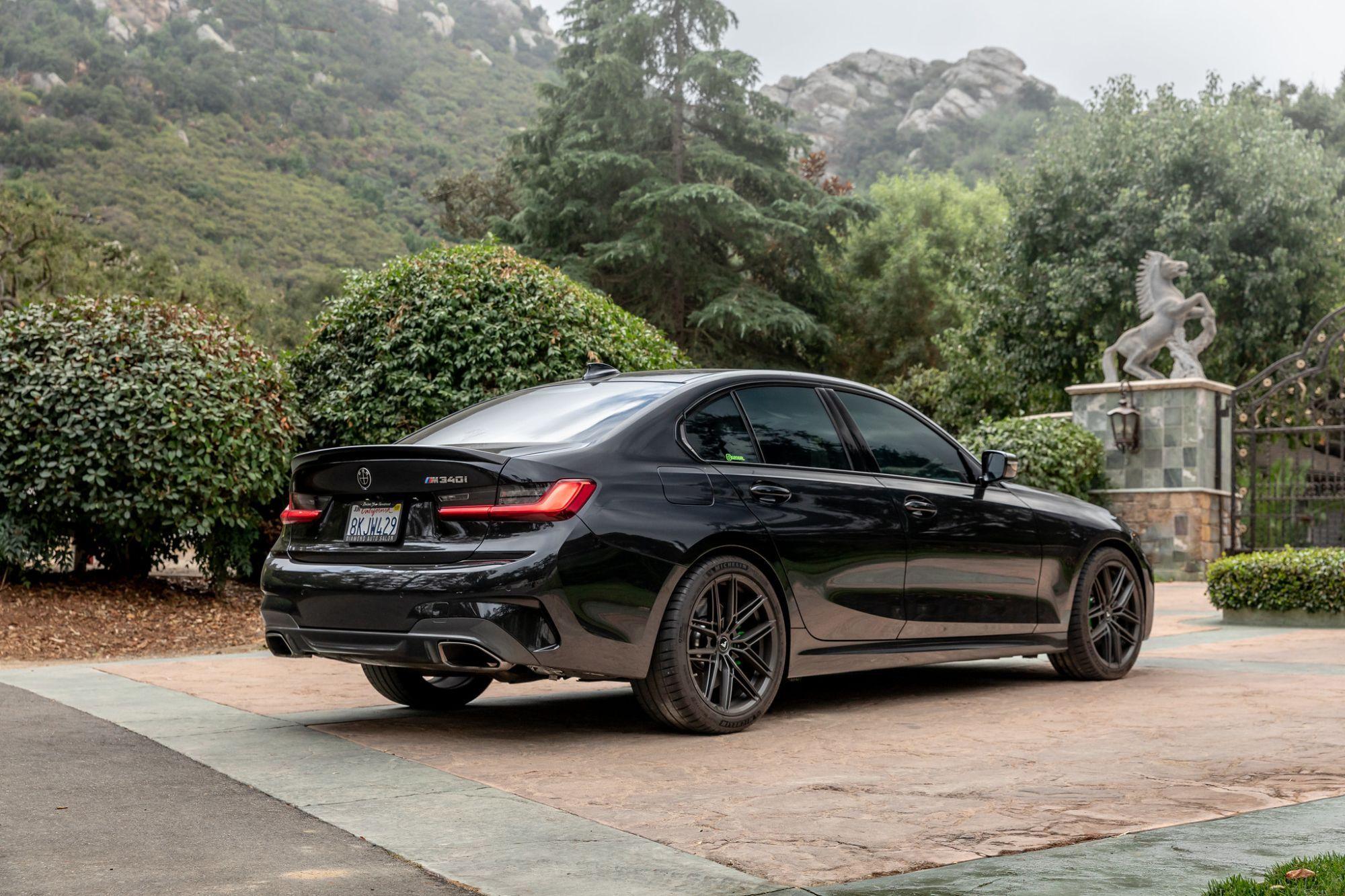 Bmw 3 Series M340i G20 Black With Vorsteiner V Ff 112 Aftermarket Wheels Wheel Frontbmw 3 Series M340i G20 Black With Vorstei In 2020 Bmw Bmw 3 Series Bmw Car Models