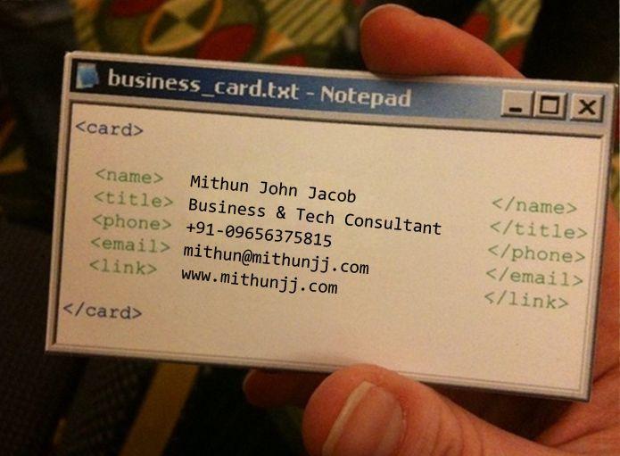 My E Biz Card Tolle Visitenkarten Kreative Visitenkarten