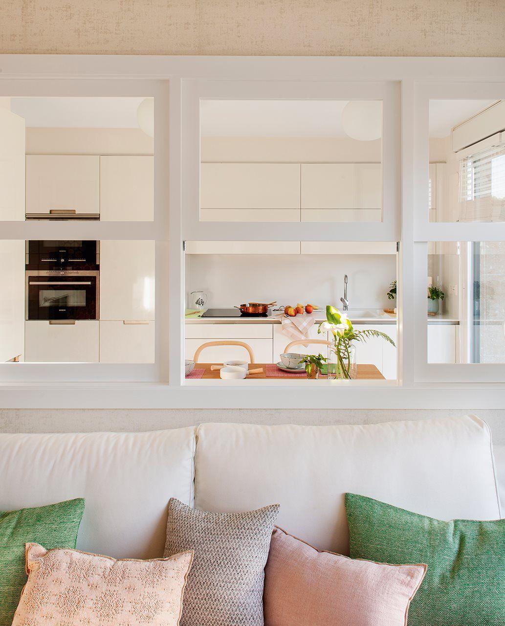 Hacia la cocina con muebles de santos cojines de estilo for Cocina estilo nordico