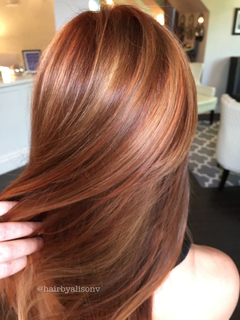 Pumpkin spice latte hair golds and coppers galore hair and beauty