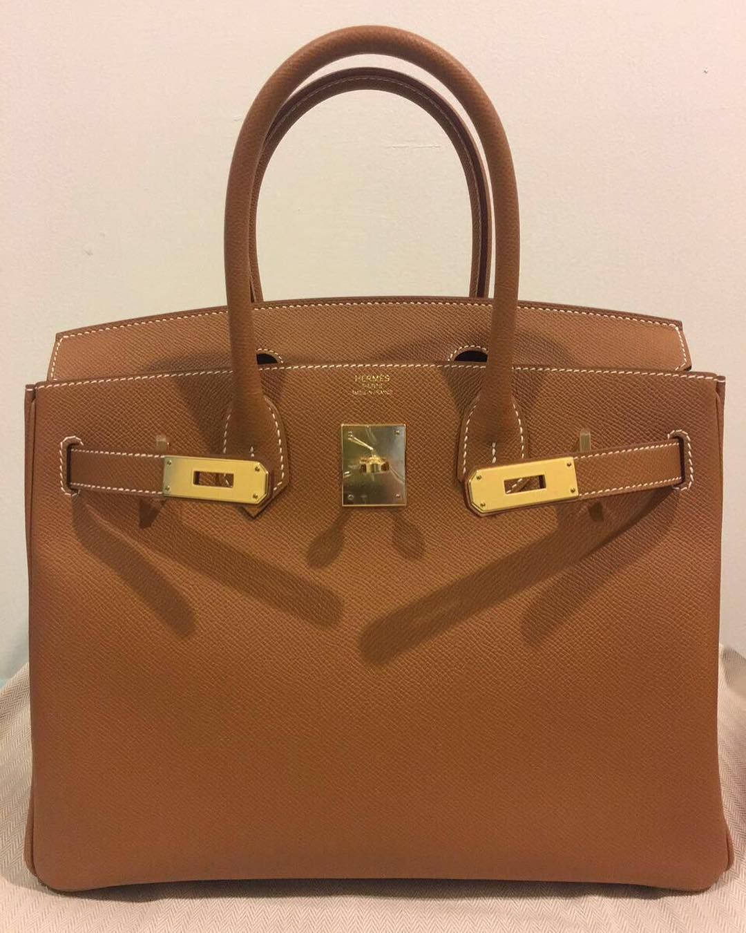 5c1fe20b606 Hermes Birkin30 Gold Epsom Ghw X | Chanel, Hermes | Hermes, Hermes ...