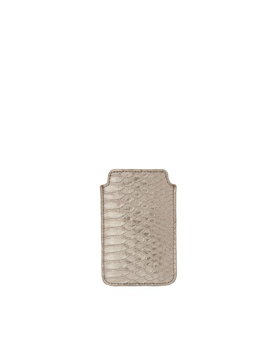 Metallic Snake iphone Case / ASOS #phonecase