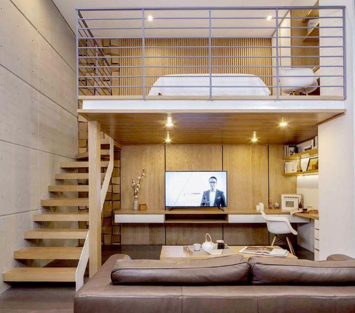 Minimalist Room Ideas Small Spaces Loft Beds