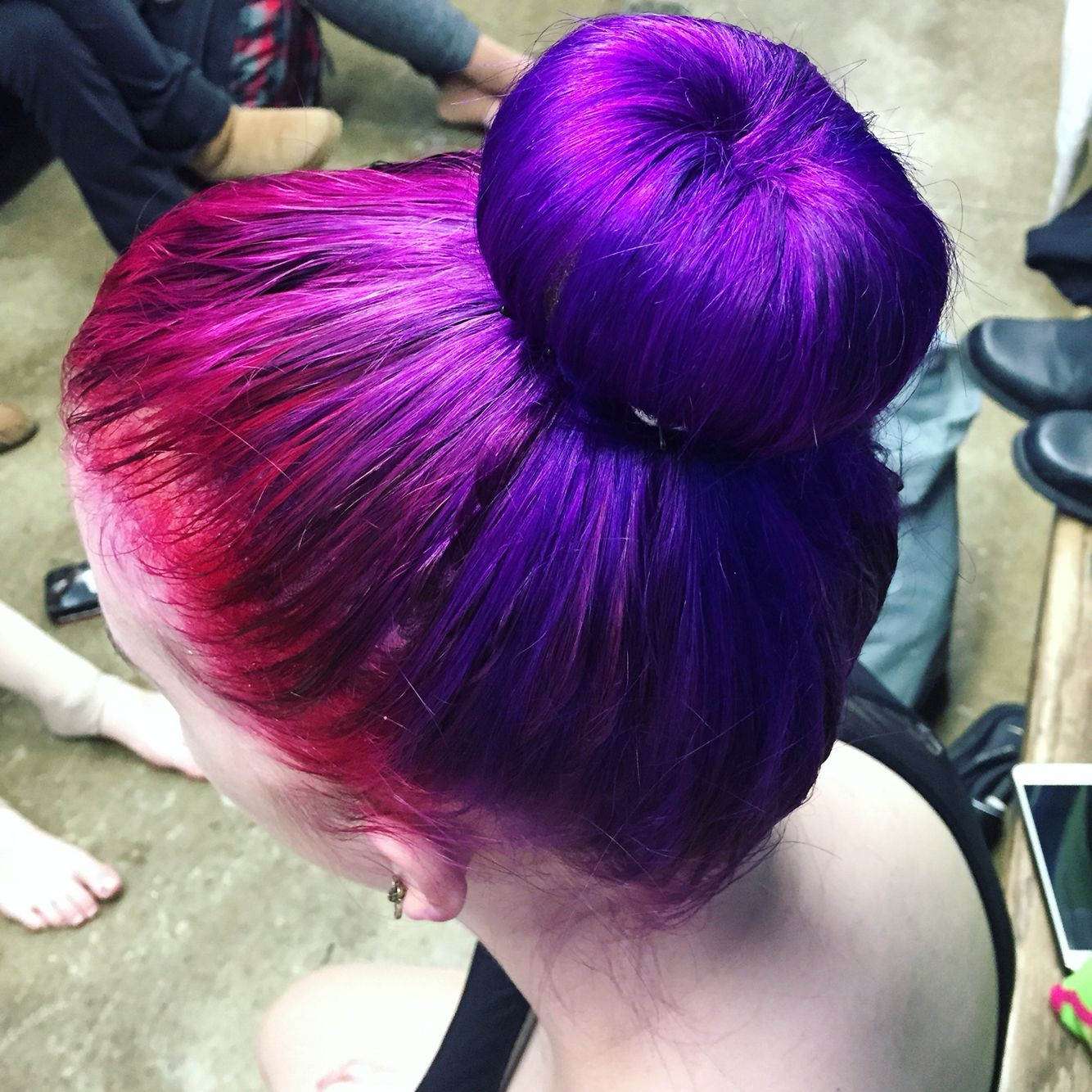 Arctic Fox Colors Wrath Purple Rain Violet Dream And Poseidon Color Done My Yours Truly Fox Hair Dye Arctic Fox Hair Color Arctic Fox Hair Dye