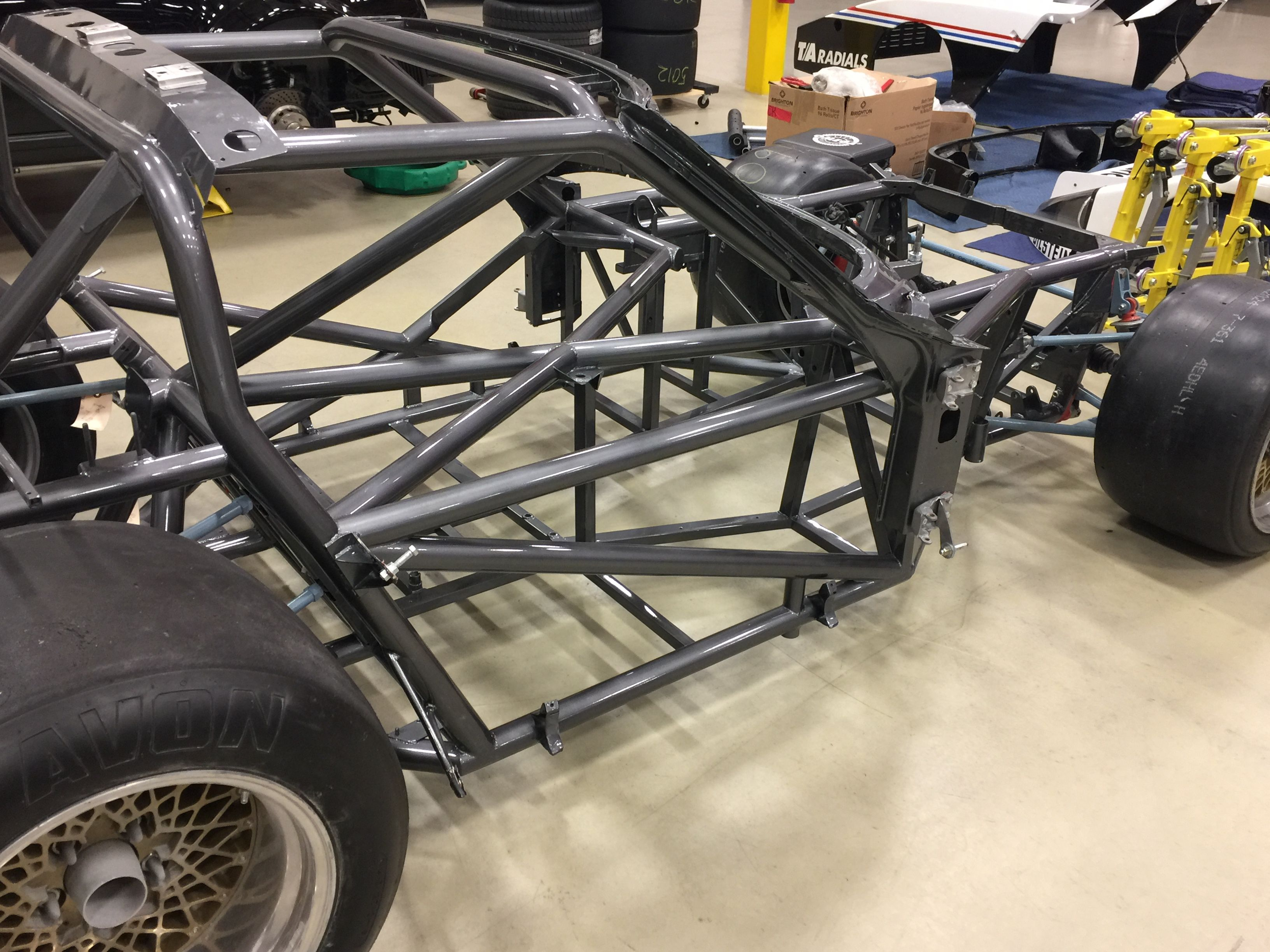 Corvette tube frame | Fabrication and Metal Forming | Tube