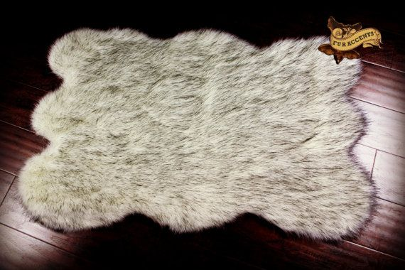 Hey, I found this really awesome Etsy listing at https://www.etsy.com/listing/119371524/exotic-russian-wolf-pelt-accent-rug-faux