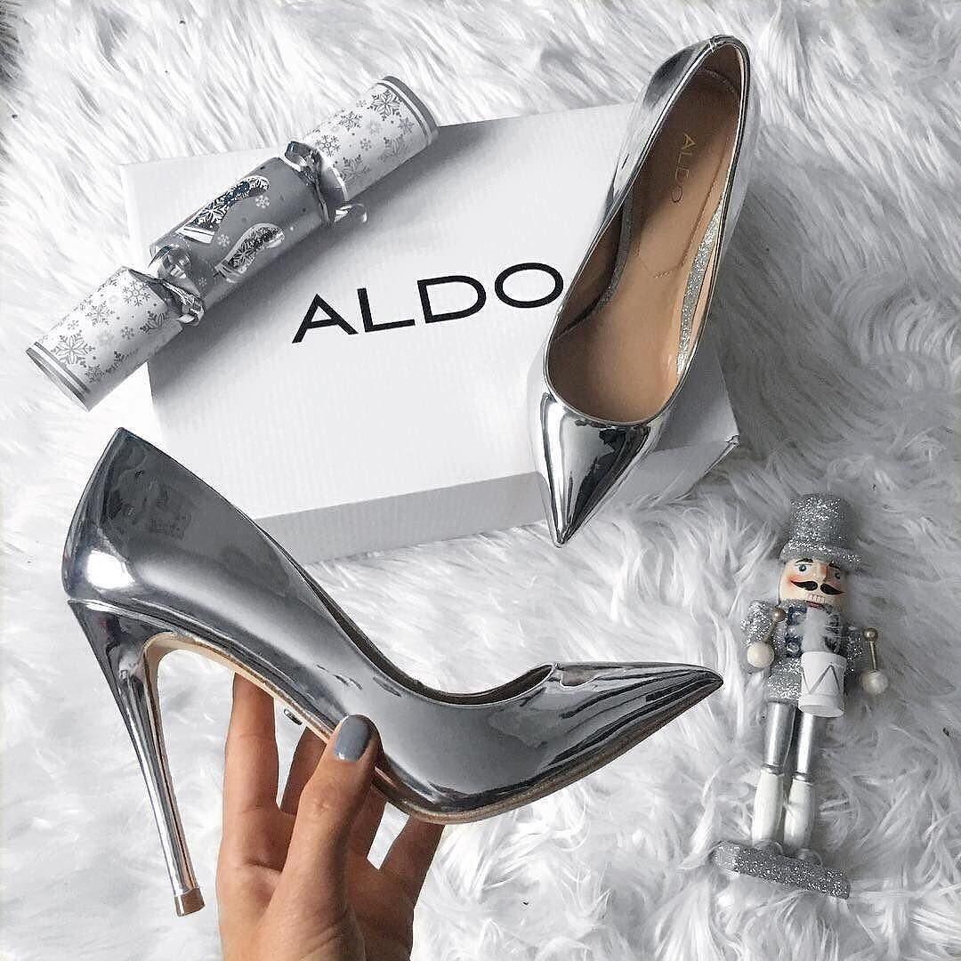 b45f9c508e5 Stessy_ Silver Women's Pumps | Aldoshoes.com US in 2019 | Shoes ...