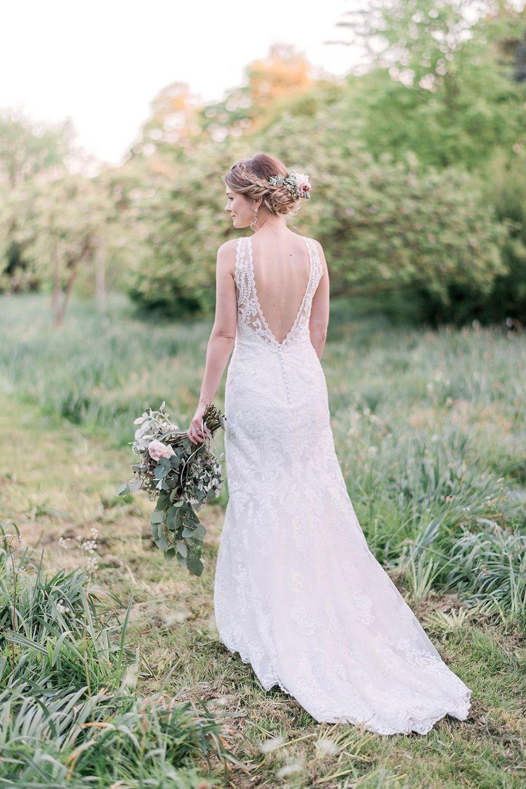 Nice beautiful pastel wedding gowns design ideas