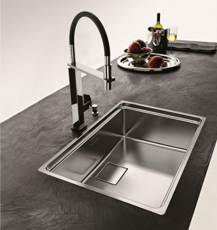 Lavello da cucina dal design moderno n.02 | Ambienti | Pinterest