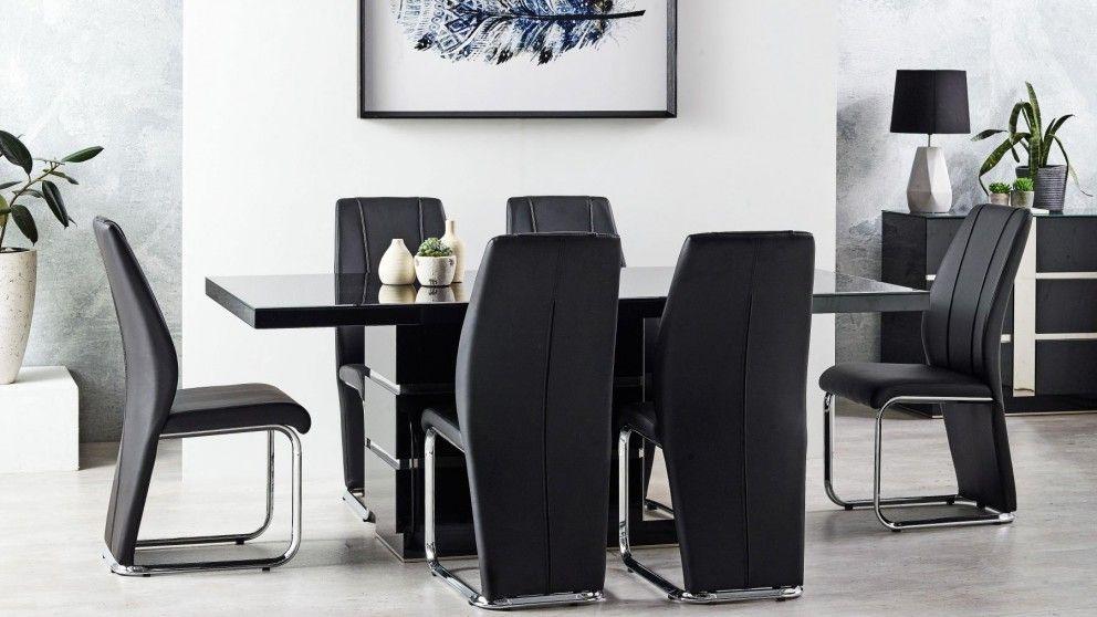 Buy Santorini 7 Piece Rectangular Dining Suite Harvey Norman Au