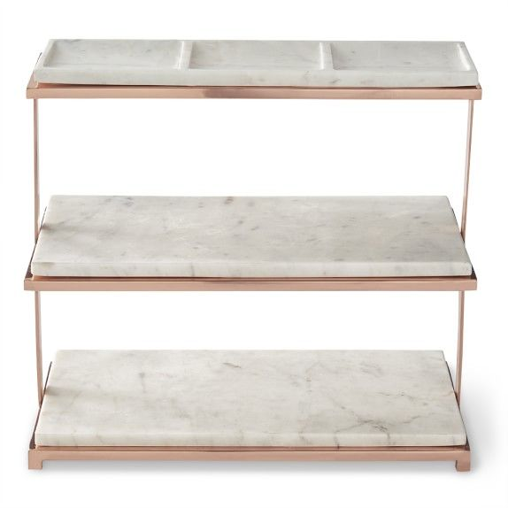 Marble Copper 3 Tiered Stand Tiered Stand Home Decor Sites Decor