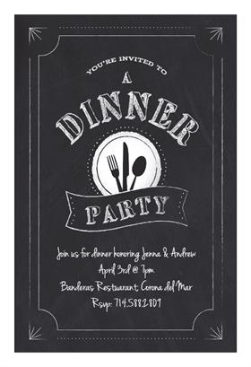 Elegant Setting - Free Printable Rehearsal Dinner Party Invitation ...