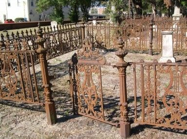 Good Looking Antique Wrought Iron Fence Sections And Antique Cast