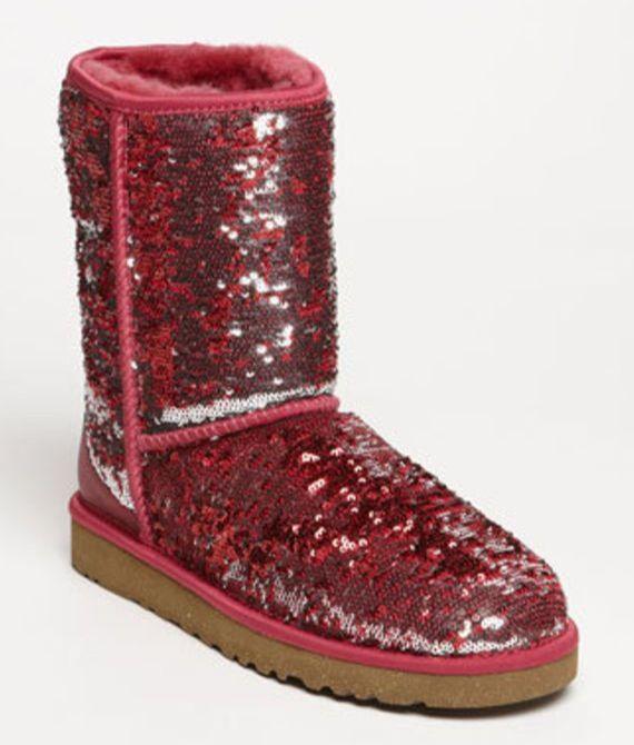 2b20643a8d8 Red/pink sequin uggs LOVE!!WANT!! | SHOETHING | Ugg boots sale, Ugg ...
