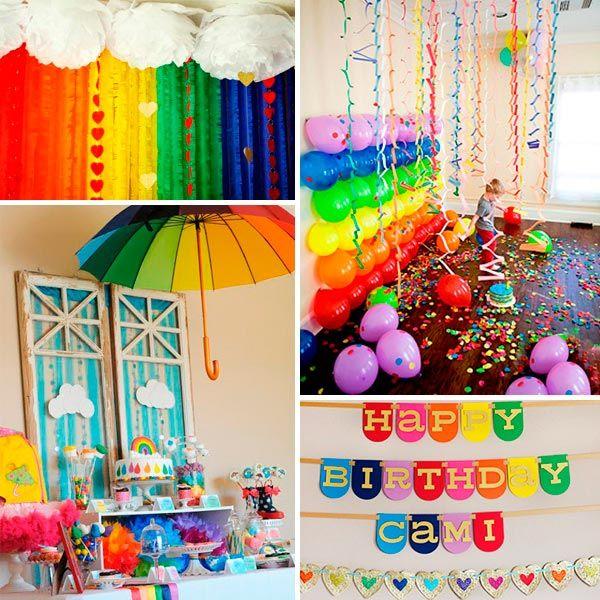 La decoraci n cumplea os en 2019 colorful birthday - Decoracion primer cumpleanos ...