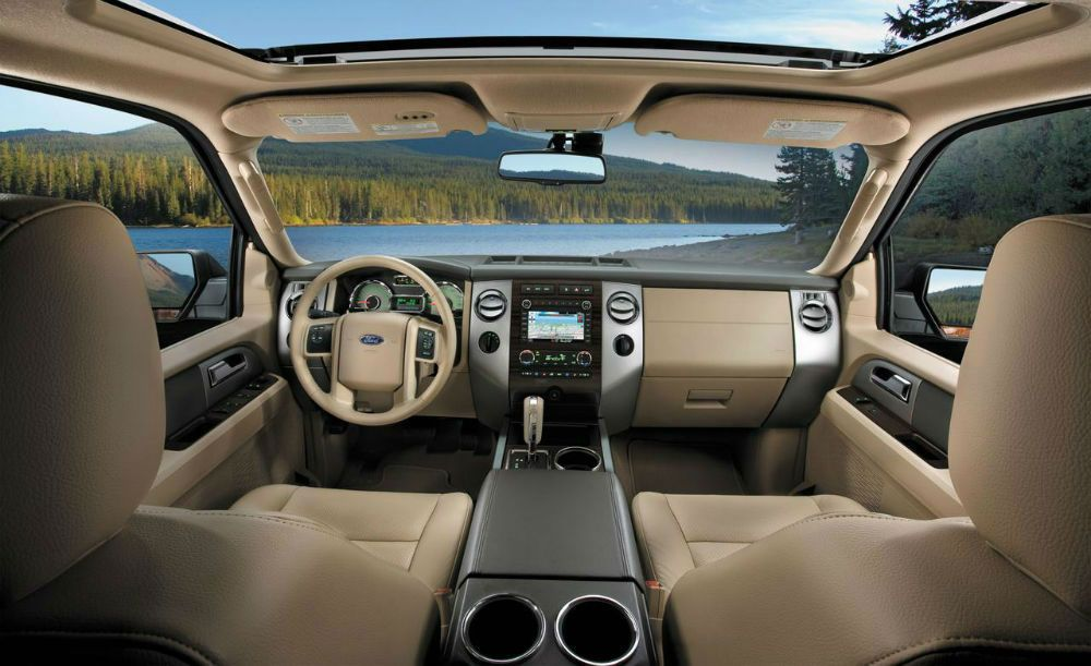 2014 ford edge limited interior not this color tho