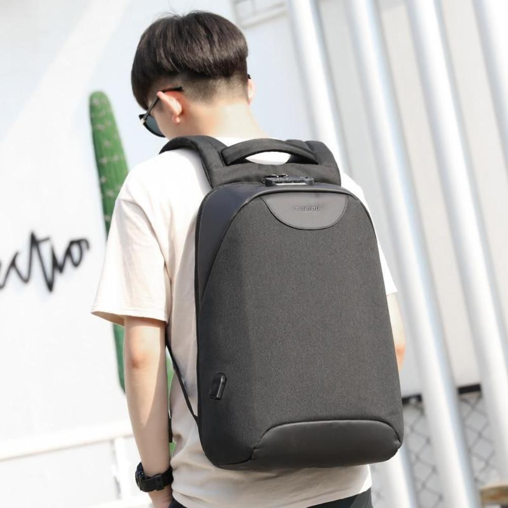 7783ba2d1 2018 Tigernu Anti theft Laptop Backpack USB Charging Port Waterproof School  Bags (eBay Link)