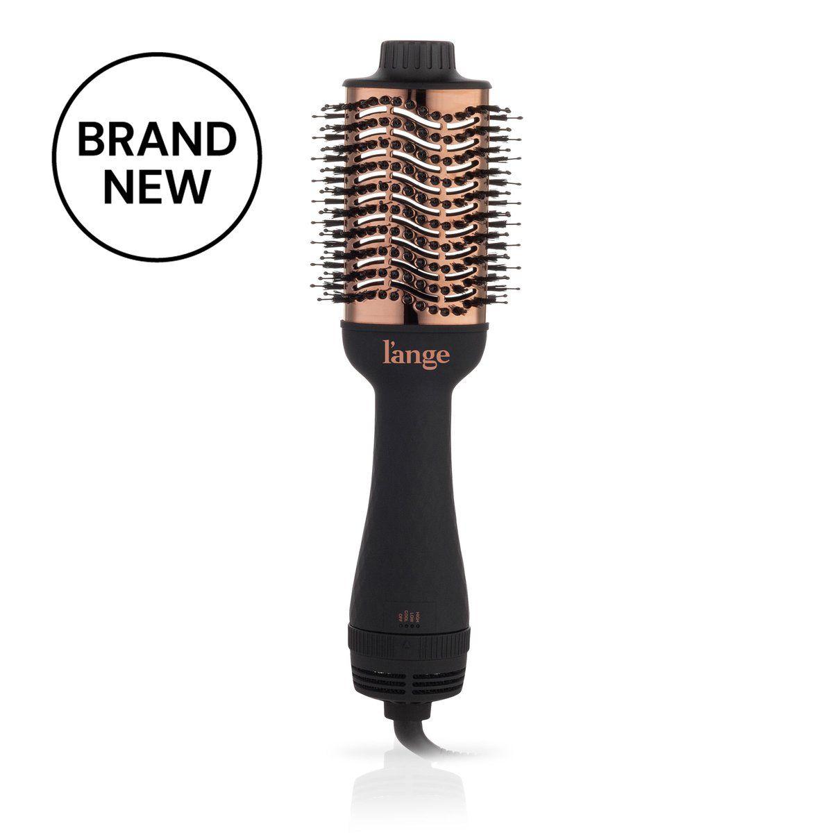 Le Volume 75mm Black Styling Brush Sleek Blowout Towel Dry Hair