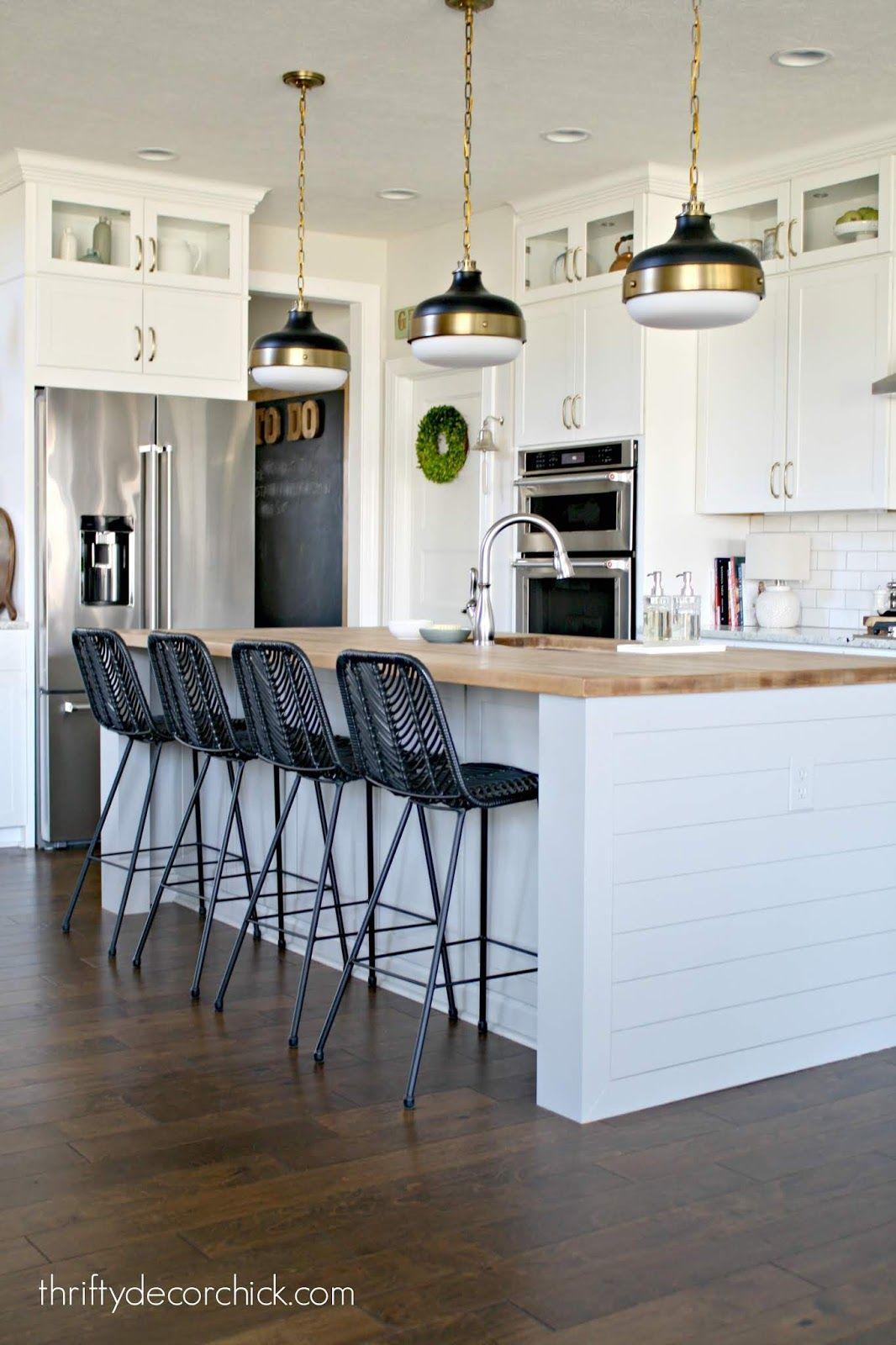 Pretty kitchen island transformation (for less than $100 ...