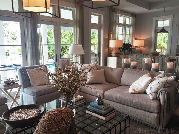 Neutral Living Room   HGTV Dream Home Tour