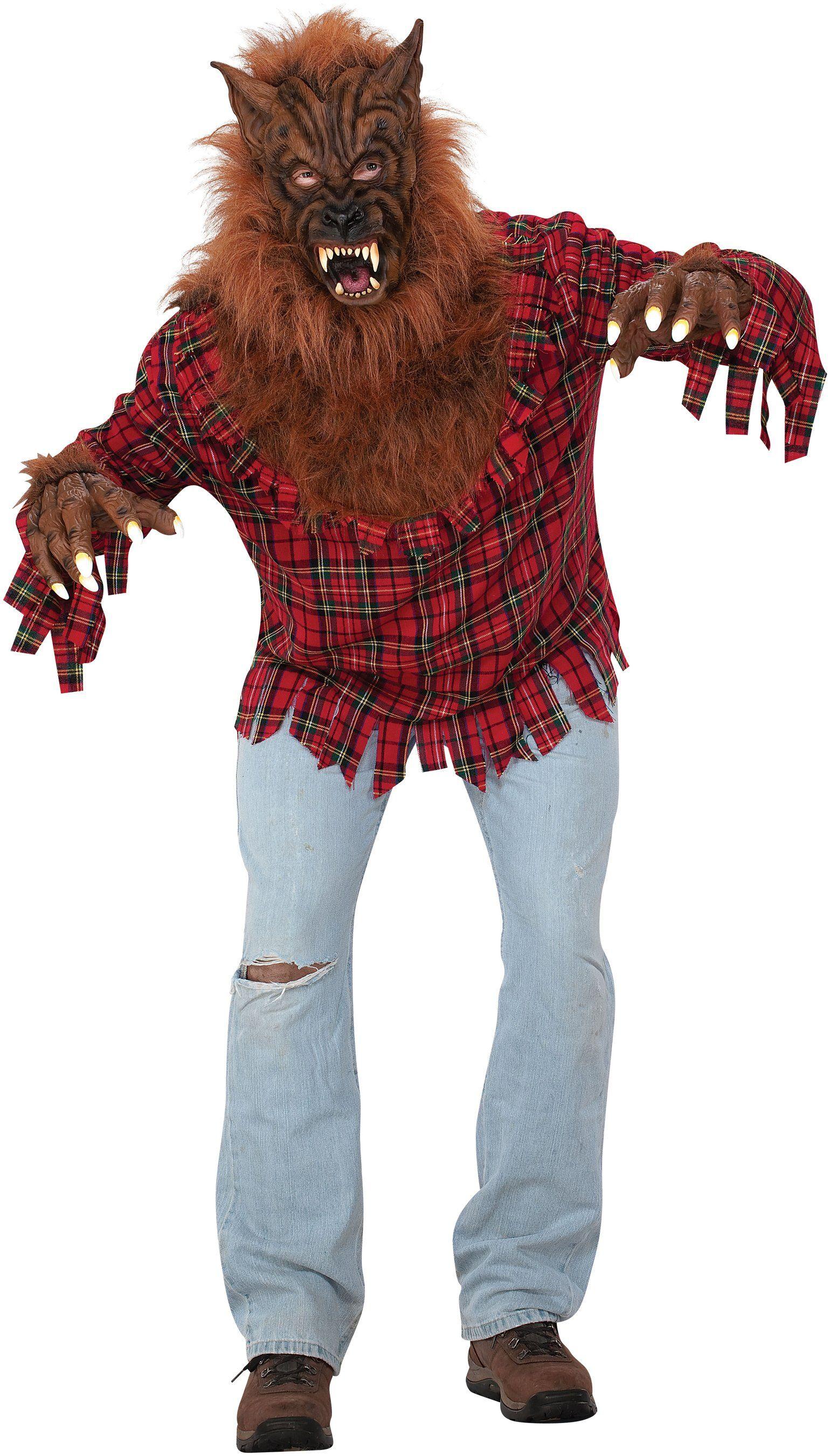 Werewolf Adult Plus Costume Cool halloween costumes