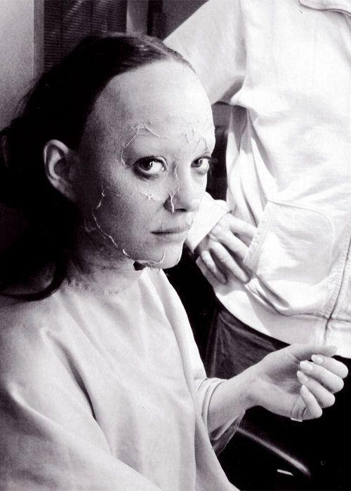 Marioncotillard Gets Into Her Edithpiaf Make Up For Her