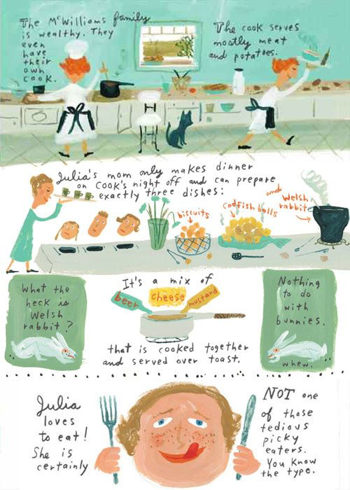 Illustrated Recipes For Children Google Search With Images Picture Book Illustration Julia Child