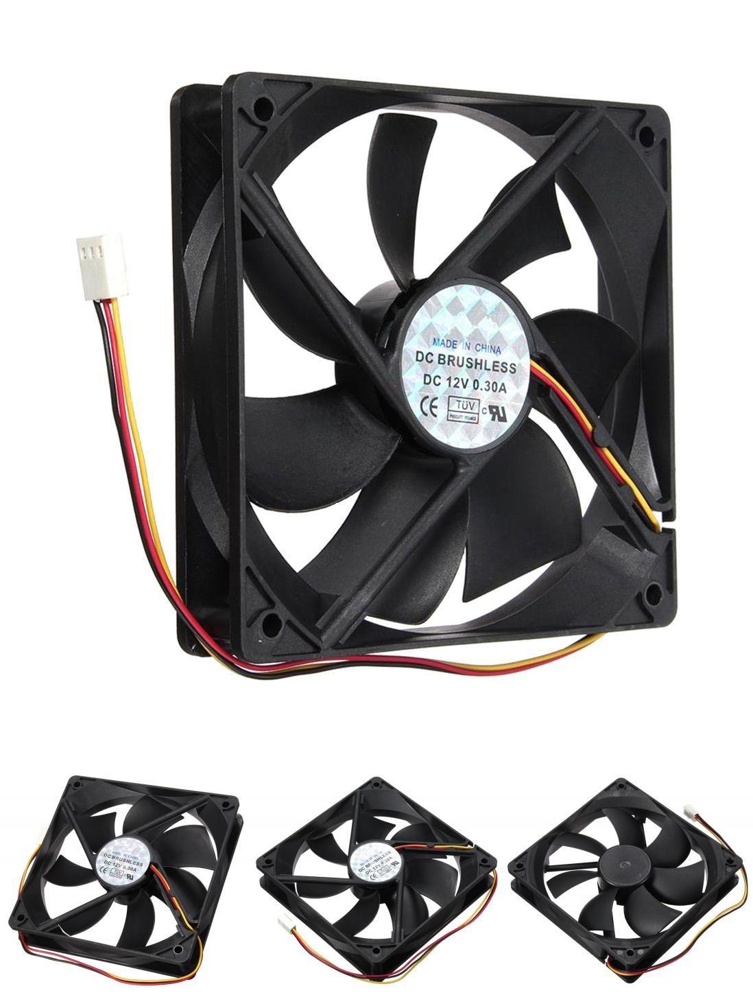 Visit To Buy 3 Pin 120x120x25mm Cpu Fan Cooler Radiator Fan