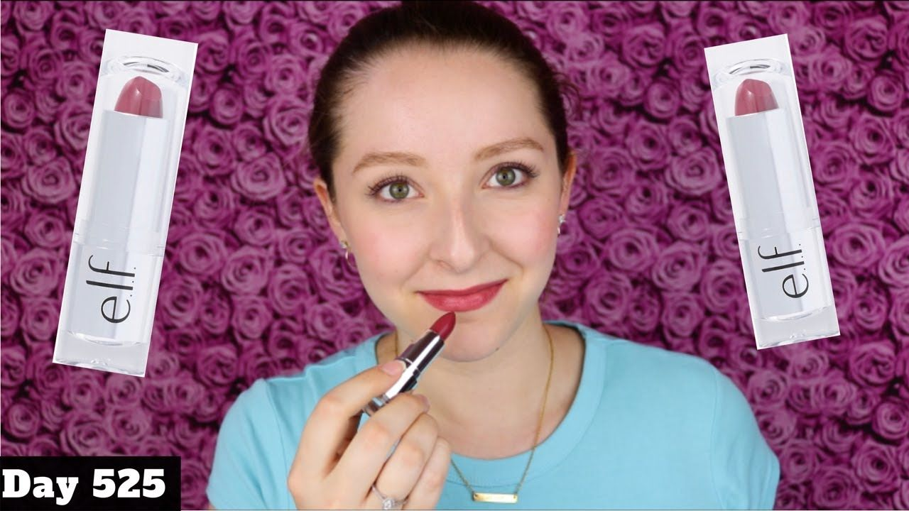 elf Beautifully Bare Satin Lipstick Review Touch Of