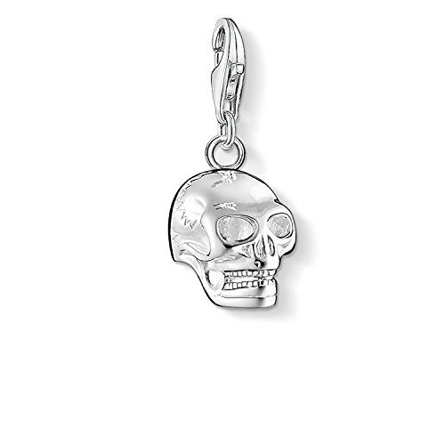 Thomas Sabo Women 925 Sterling Silver silver Round Cubic Zirconia Bead Charm - 1469-041-17 VEnxx