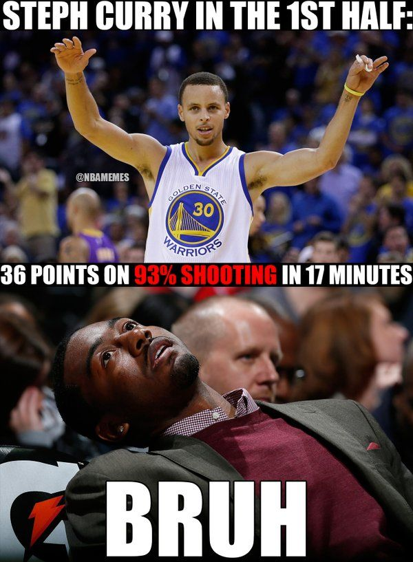306041fcbd7e286fe21a8fddb8449827 rt @nbamemes stephen curry is on fire on the 1st half here's how,John Wall Bruh Meme