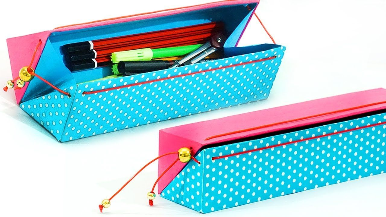 Diy pencil case how to make pencil case from waste