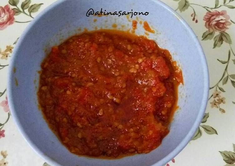 Resep Sambal Uduk Oleh Atina Hasanah Sarjono Resep Resep Makanan India Makanan Pedas Resep Makanan Asia