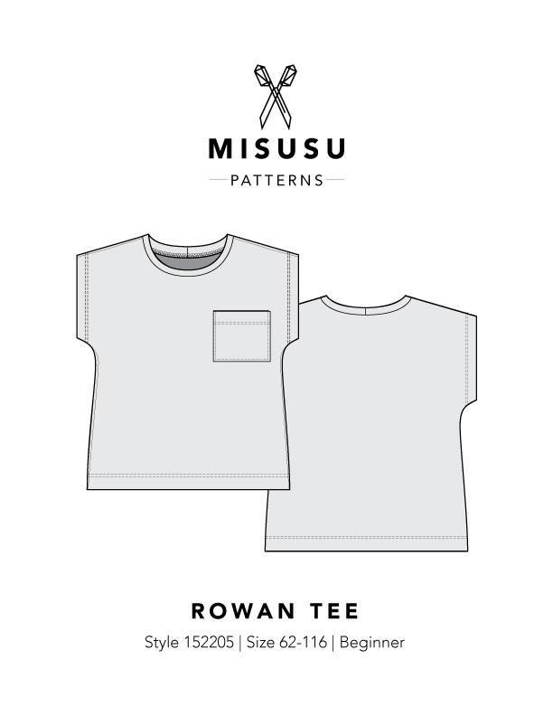 Rowan Tee Pdf Sewing Pattern Patterns Pinterest Pdf Sewing