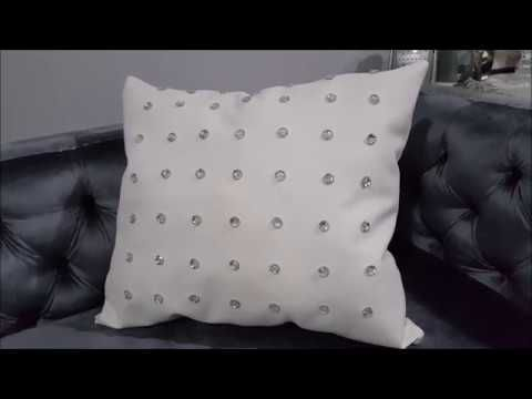 Bling Vinyl Throw Pillows Use What You Have Decorating 40 DIY Fascinating How To Use Decorative Pillows