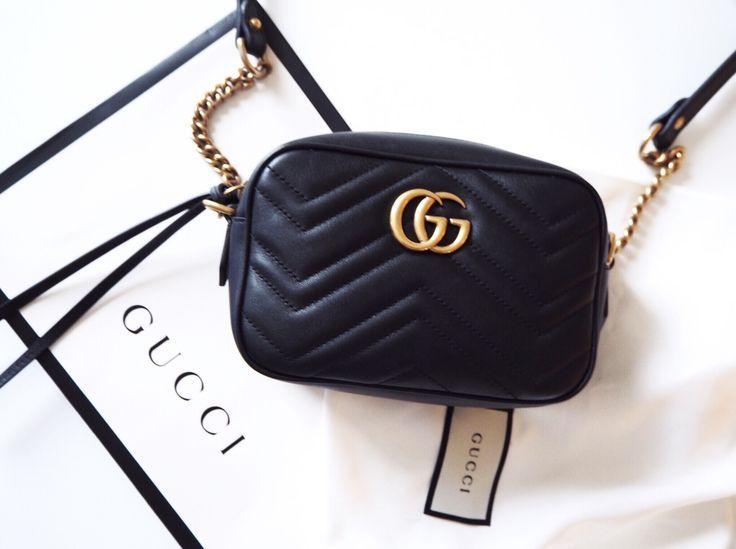 4c953c2e9d9e Gucci Belt Bag marmont black #gucci #beltbag #newin #shopping #marmont  #fannypack #unboxing #blogger   Blogging in 2019   Gucci handbags, Gucci  marmont bag, ...