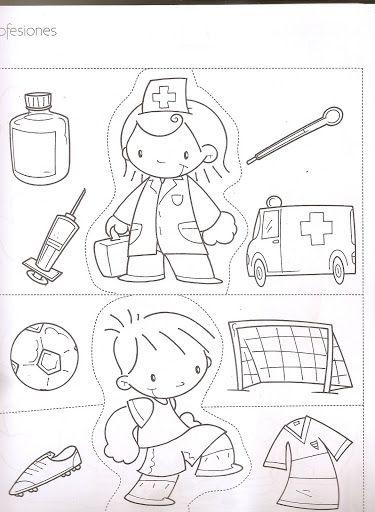 Bombero Doctor y enfermera Policía Astronauta Apicultor Albañil ...