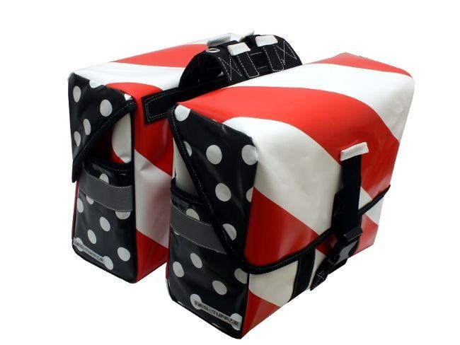 fahrradtaschen doppelpacktaschen satteltaschen von. Black Bedroom Furniture Sets. Home Design Ideas