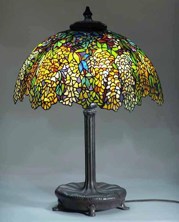 Wish I Had A REAL Tiffany Lamp.