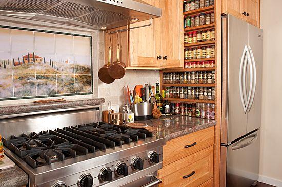 Built In Spice Rack Kitchen Rack Design Kitchen Design Decor