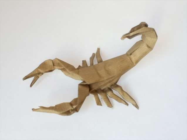 Origami Scorpion Diagram . Inspirational origami Scorpion ... on