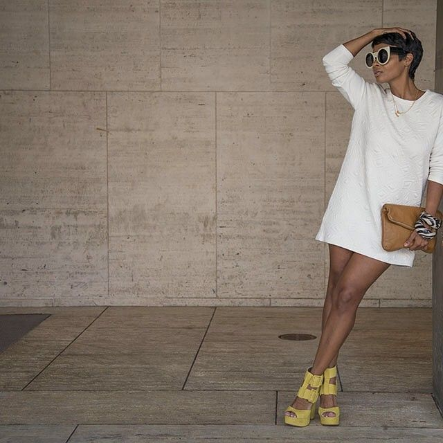 Kyrzayda in the #ShoeCult Buckle Up Platform in Yellow | Get the shoes: http://www.nastygal.com/product/shoe-cult-buckle-up-platform?utm_source=pinterest&utm_medium=smm&utm_term=ngdib&utm_content=the_cult&utm_campaign=pinterest_nastygal